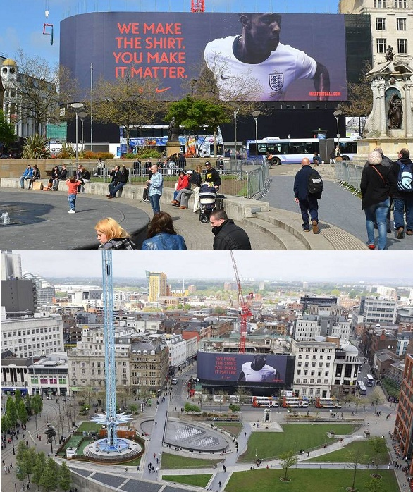 blowUP Media - Manchester - Nike
