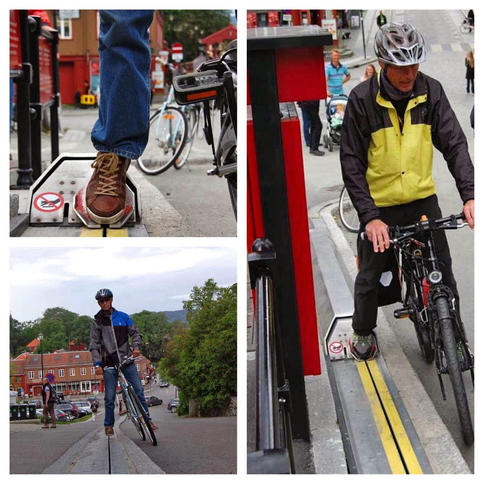 Norway has invented a bicycle escalator