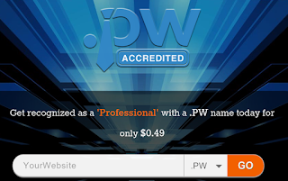 Promo Domain .pw Gratis