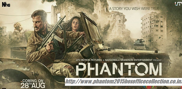 Phantom Box office Collection |Phantom Movie (2015) First Look | Phantom Movie Review
