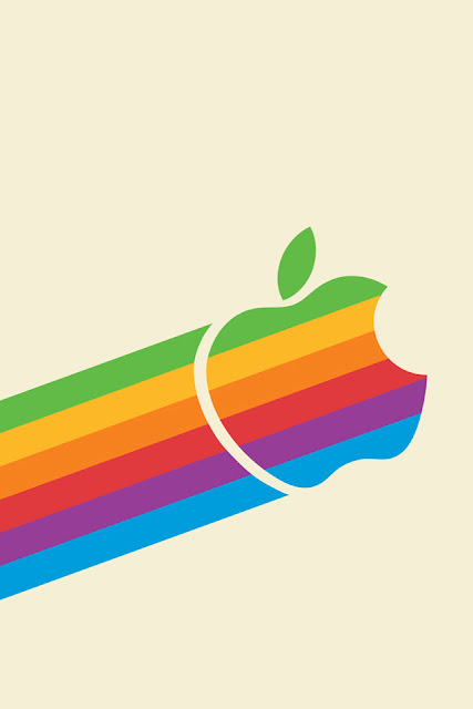 Retro Apple iPhone Wallpaper By TipTechNews.com