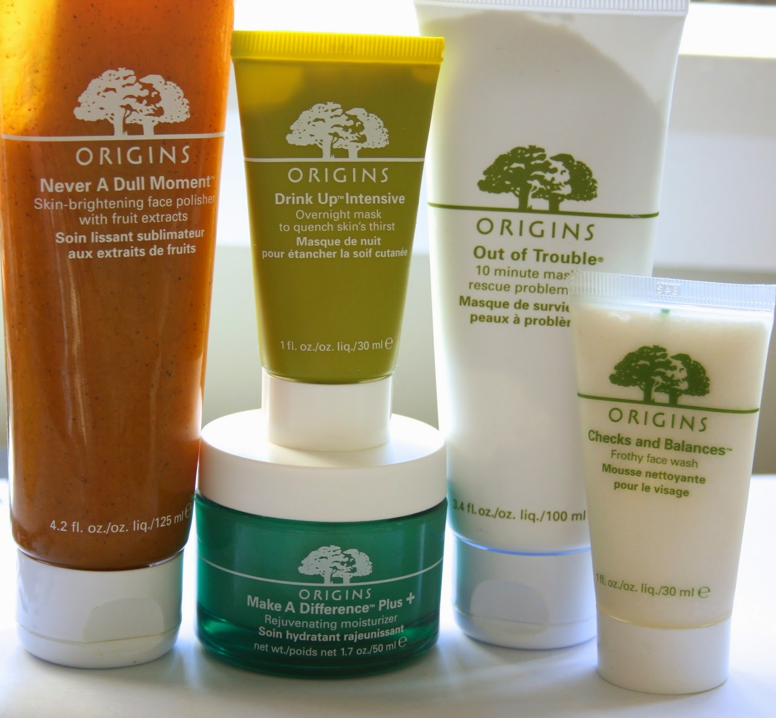 origins skin care reviews
