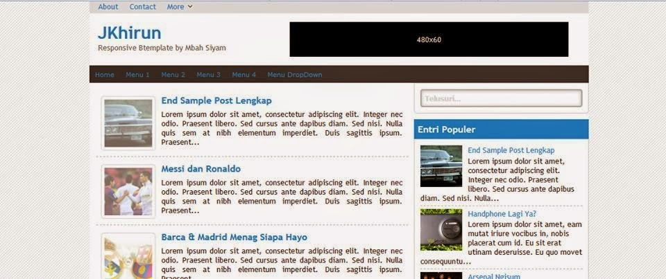 Download Template Blogger JKhirun