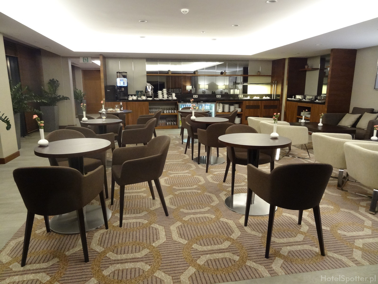Salonik Executive Lounge w DoubleTree by Hilton Warsaw - wnetrze