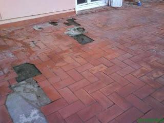 Como impermeabilizar una terraza aprender hacer - Impermeabilizar paredes interiores ...