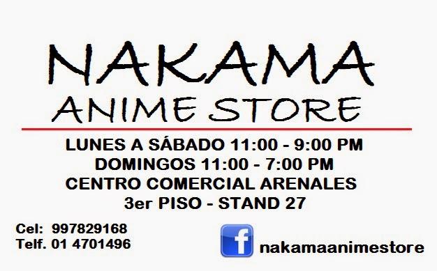 NAKAMA Anime Store