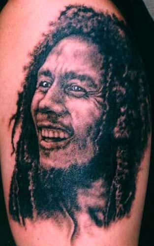 Forasteiro tattoo tattoo bob marley for Bob marley tattoo