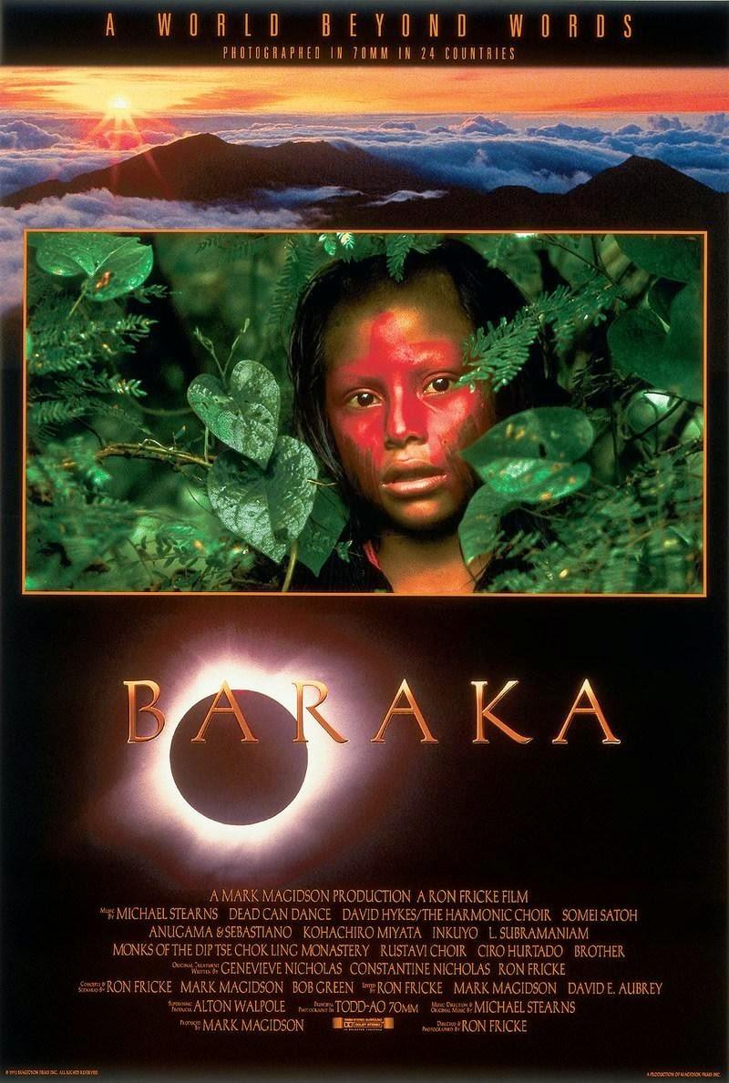 Portada de la película Baraka