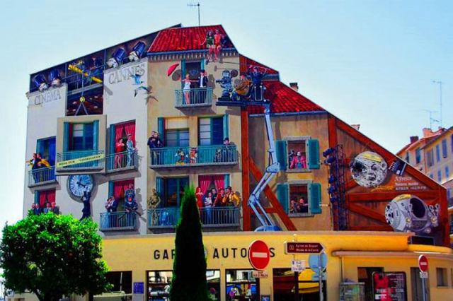 renovação da fachada