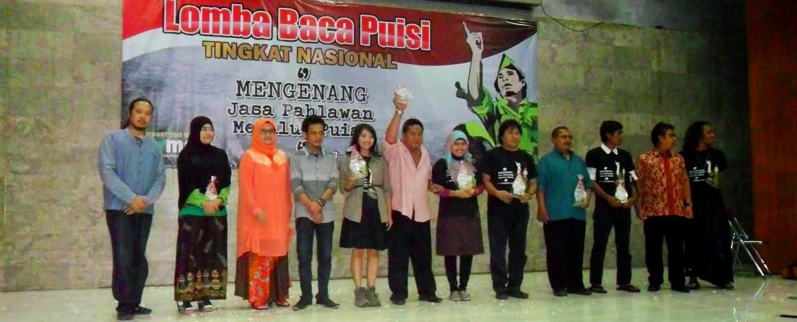 lomba puisi tingkat nasional