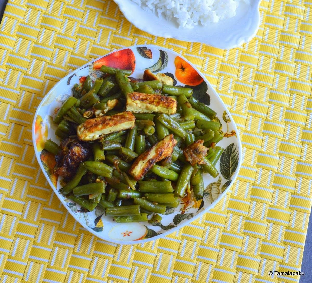 Vegan Kosoi (Beans) Bwtwi
