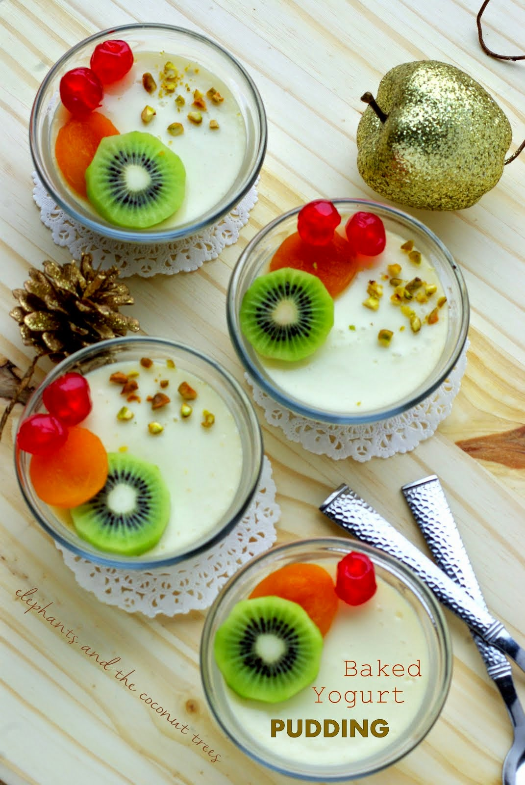 Baked Yogurt Pudding