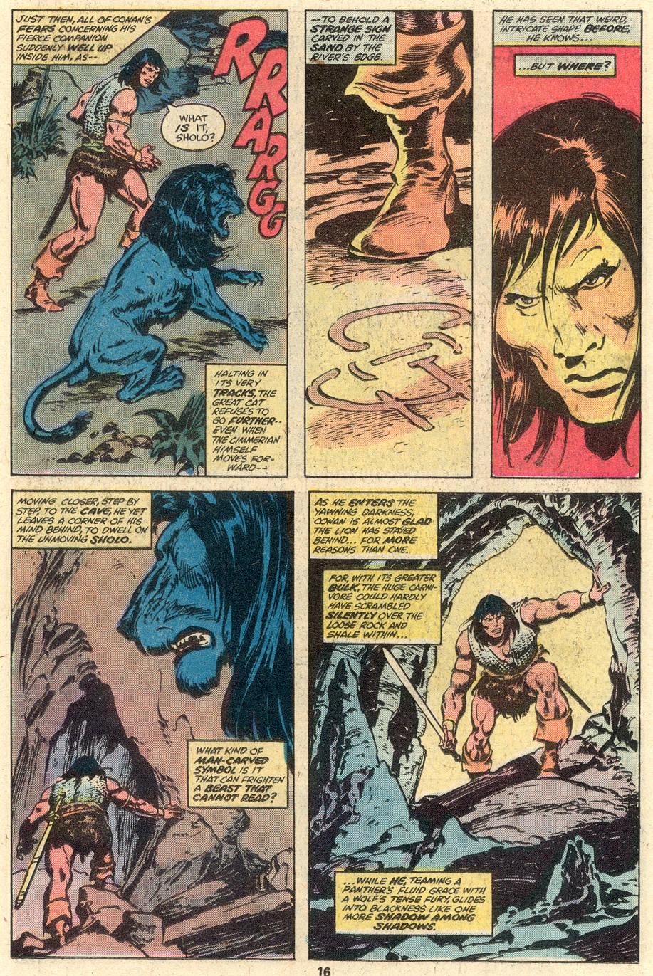 Conan the Barbarian (1970) Issue #95 #107 - English 11