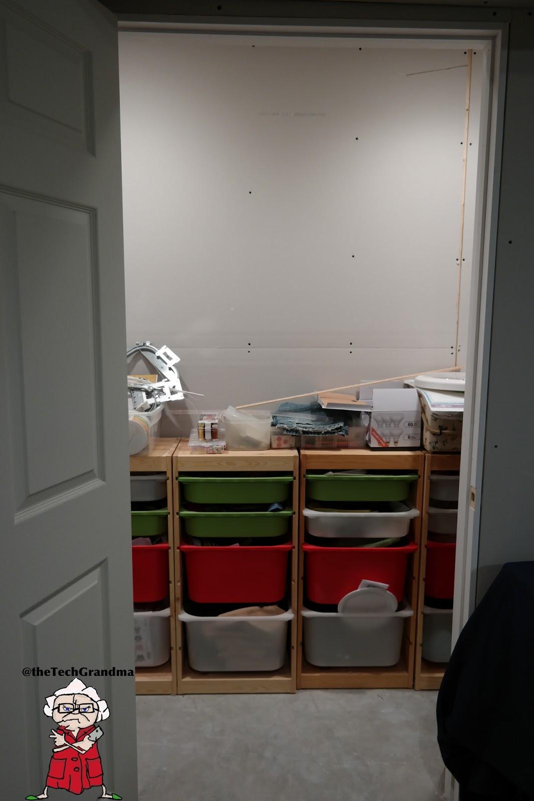 the tech grandma basement project part 2