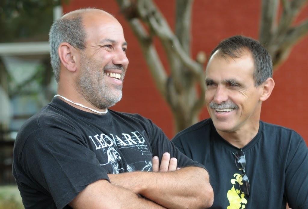 SubSecretário Arnaldo Almeida e o Secretário de Cultura, Wanderley Peres