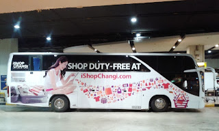 changi airport rethink travel shuttle bus