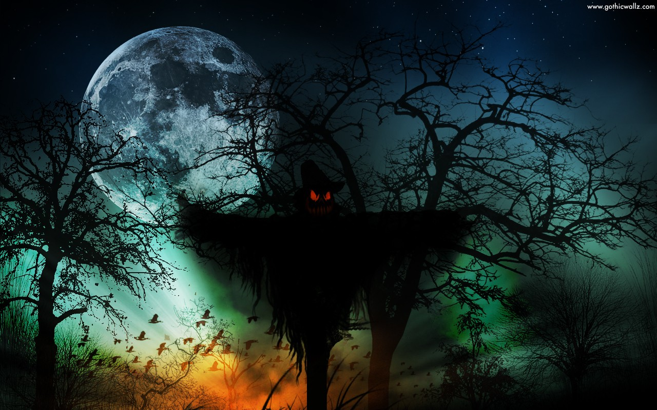 Dark Scarecrow | Dark Gothic Wallpaper Download
