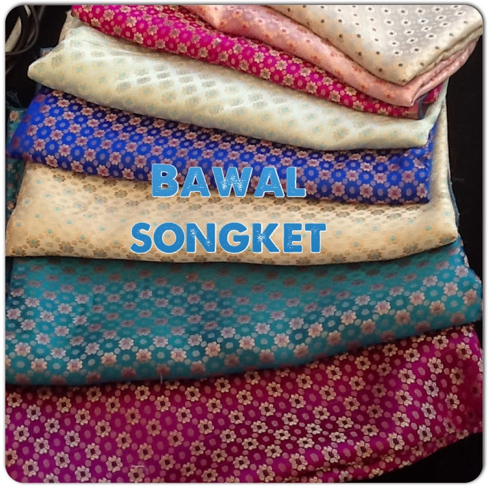 NEW CUSTOMADE COLLECTION : BAWAL SONGKET..