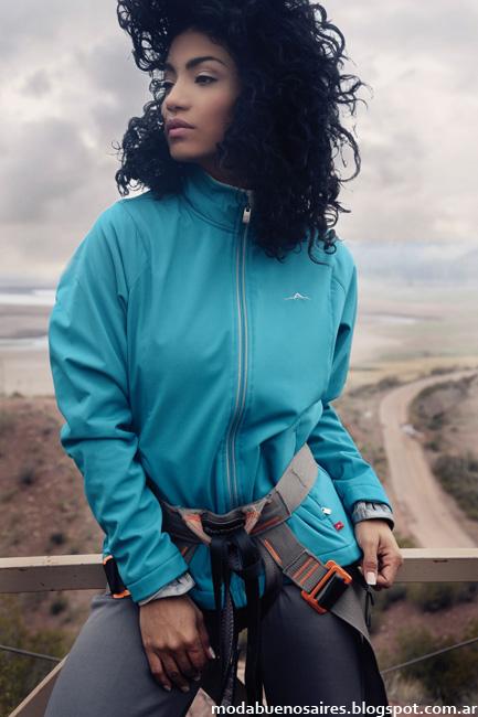 Indumentaria deportiva de moda. Abyss invierno 2016 Mujer. Moda 2016.