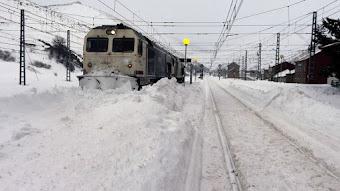 La incompetencia de ADIF: ¿Cuántos días van ya para 70-100 cm de nieve?