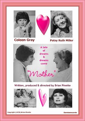 Film Noir Coleen Gray & Silent star Patsy Ruth Miller in their last film Mother (1978)