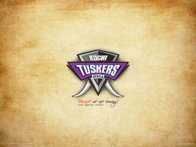 Kochi IPL - Kochi Tuskers Kerala Wallpapers 2011