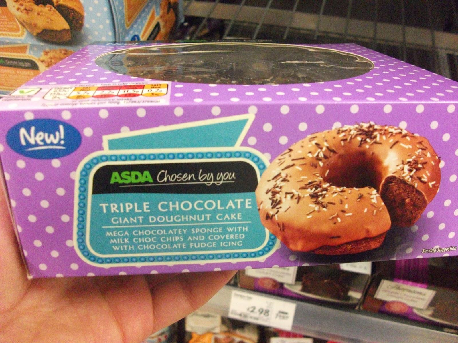 Asda chocolate fudge cake