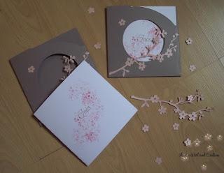 zeste d 39 amour faire part naissance fleurs de cerisier. Black Bedroom Furniture Sets. Home Design Ideas
