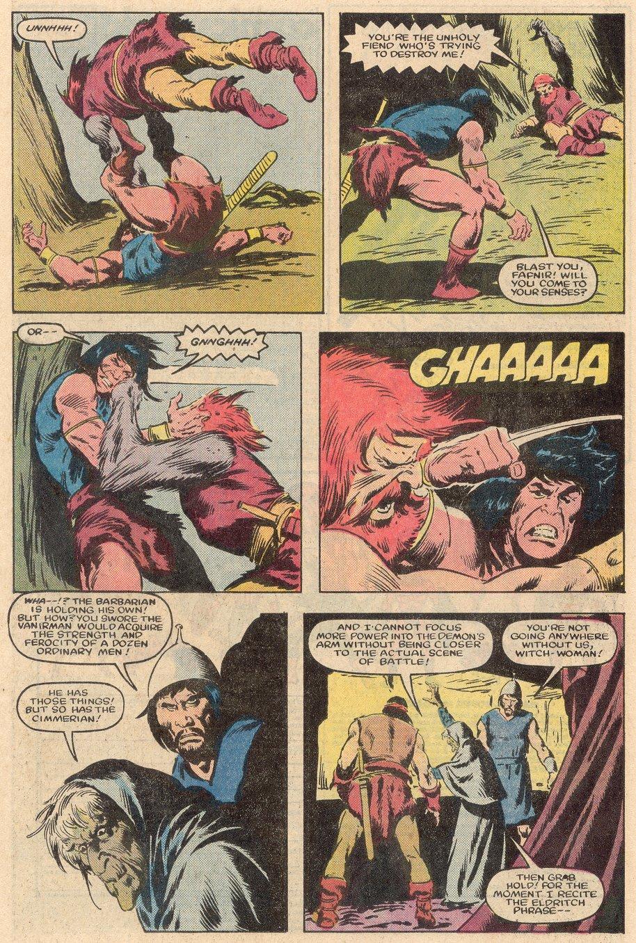 Conan the Barbarian (1970) Issue #161 #173 - English 19