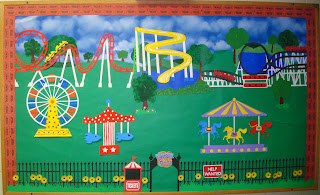 Amusement Park Bulletin Board