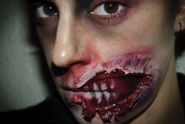 Maquillaje Halloween 5 Zombie FX efectos especiales | SQ Beauty by ...