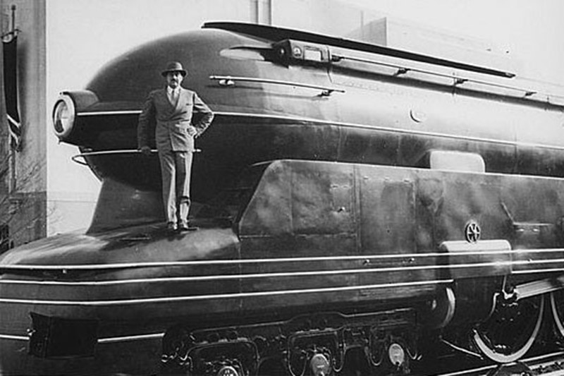 If it39s hip it39s here archives visionary raymond loewy for Art deco train interior