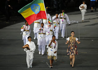 Ethiopia London 2012 olympics opening ceremony