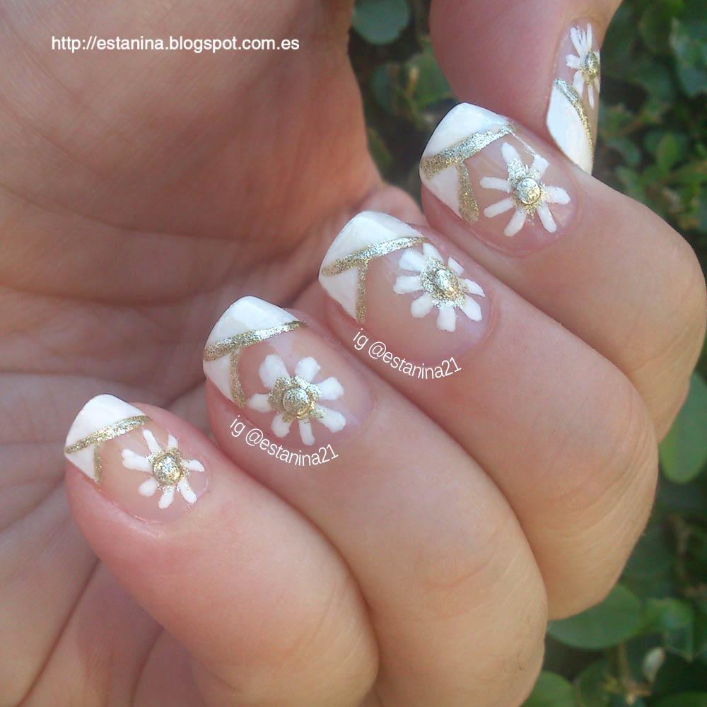daisies-nailart