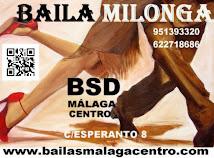 CURSOS DE MILONGA Y VALSITO EN BSD MÁLAGA CENTRO.