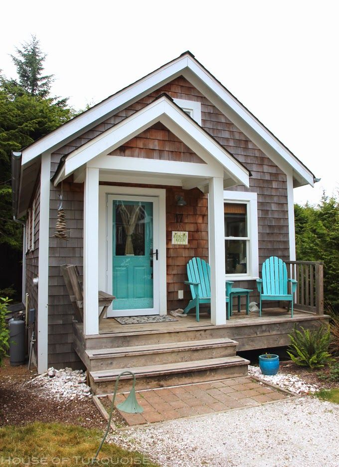 Coastal style beach shack love Cottage style tiny homes