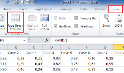 Excel insert, move and remove page break - modify page breaks