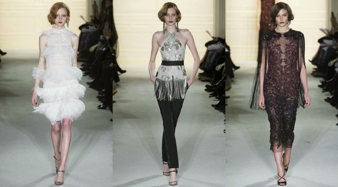 Marchesa AW15 New York Fashion Week