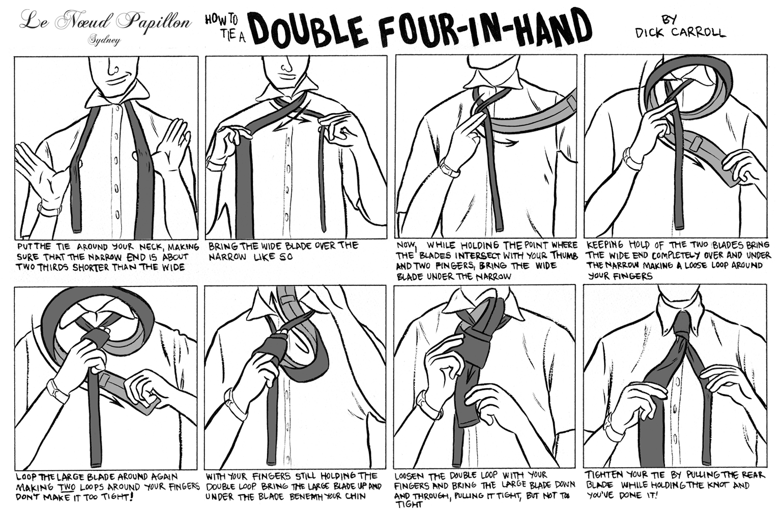 Le noeud papillon of sydney for lovers of bow ties download how with the australian spring now upon us consider both knots as a way to alerting other men in your vicinity that you are in the know wink wink ccuart Images