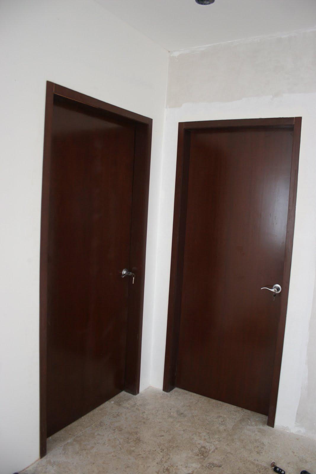 Puertas para ba o economicas for Puertas madera economicas