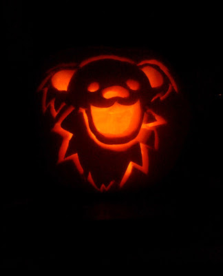 Grateful Dead Jack-o-Lantern