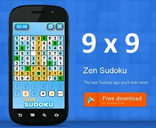 Puzzle Game of the Month - Zen Sudoku Game