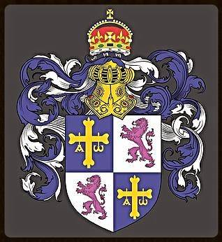 Brasão de Príncipe da Casa Principesca dos Camêlos de Astúrias e Leão