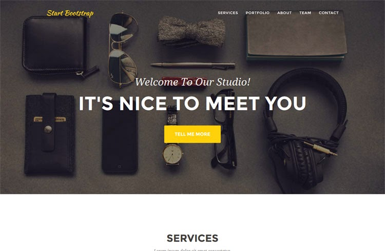 Agency - Free Bootstrap Theme