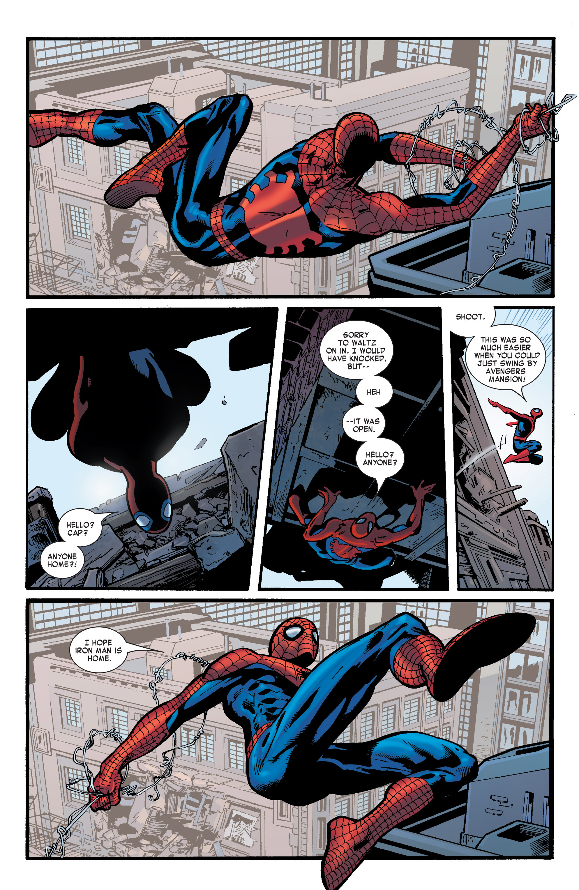 Captain America (2002) Issue #31 #32 - English 15