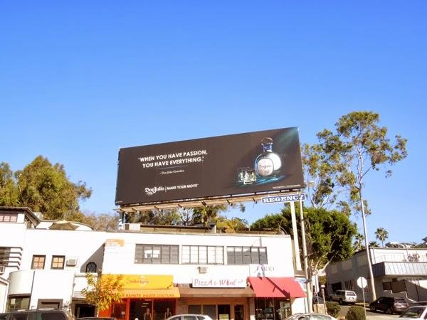 Don Julio Tequila passion billboard