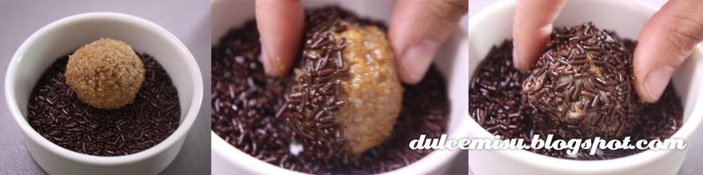 trufas, nuez de macadamia, bailey, dulcemisu, capsulas