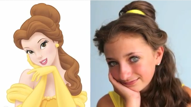 Beauty And The Beast Belle S Hairstyle Tutorial