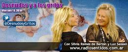 Desnudos y a los Gritos el nuevo programa de Radio de Silvia Ramos de Barton