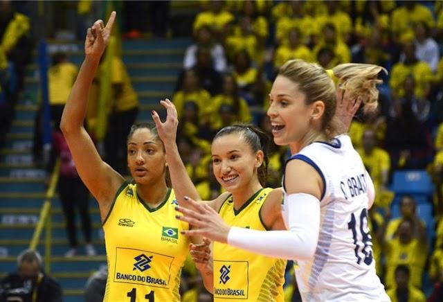 Jogando em casa, Brasil encerra a segunda rodada do Grand Prix contra a Alemanha
